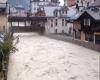 Alluvione sfiorata a Chamonix. Video della piena dell'Arve