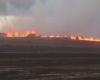 Le prime, spettacolari immagini dell'eruzione del vulcano Bardarbunga