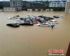 Cina Centrale, enorme diluvio causa inondazioni e frane: 8 le vittime