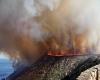 Spagna, gigantesco incendio distrugge la riserva di Cabo de San Antonio