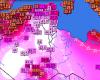 Caldo tremendo in Tunisia e Algeria, 40 gradi nell'Atlante, quasi record a Gabes