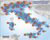 Temperature in ulteriore calo: massime sotto i 30°C, salvo in Sicilia