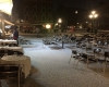 Venezia imbiancata, super temporale di grandine s'abbatte in Laguna: video
