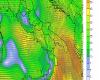 Puglia, burrasca di vento e drastico calo termico