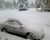 Prima neve nella Russia europea, tra Murmansk e la Carelia