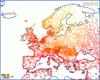 Temperature massime in Europa: 30 gradi di differenza tra Helsinki e Atene!