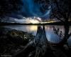 Uno spettacolare tramonto australiano