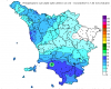 Nubifragi in Toscana, piogge torrenziali: punte di oltre 100 millimetri