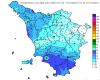 In Toscana oggi le piogge più intense d'Europa