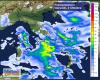 Ecco dove cadranno le precipitazioni più intense