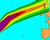 Uragano Gonzalo punta la Gran Bretagna, arriverà stanotte: ecco gli effetti