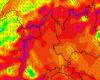 Torino, notte movimentata per il fortissimo vento, raffiche sino a 110 km/h