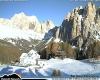 Alpi: il cielo si apre e il sole illumina panorami fiabeschi
