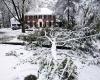 Storico Nor'easter di Halloween 2011: bufere di neve eccezionali da record
