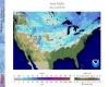 Gelo e neve da record: oltre la metà degli USA ricoperti dal manto bianco