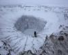 Maxi voragine in Siberia, prime esplorazioni: foto dall'interno