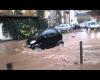 Alluvioni Francia: il centro di Bédarieux invaso dall'acqua