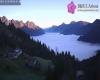 Nebbie in valli e pianure: guardate che panoramica dalle alture!