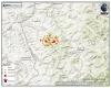 Sciame sismico senza sosta in Toscana: trema la terra ogni pochi minuti