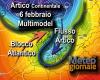 Febbraio: dal freddo Artico Marittimo al freddo Artico Continentale