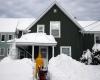 """Nordest USA: il blizzard """"monstre"""" porta neve record in molte città"""