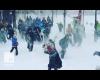 Dopo il Blizzard: la mega battaglia a palle di neve!