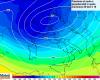 Affondo Vortice Polare e genesi di depressione esplosiva: venti tempestosi