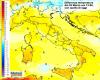 Sbalzi termici impressionanti nel corso della prossima settimana