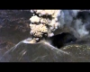 La nuova isola giapponese Nishinoshima cresce ancora: guardate che eruzioni!