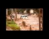 La disastrosa alluvione di Copiapó... strade come fiumi