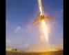 Esplosione razzo: l'atterraggio fallito visto dalla GoPro