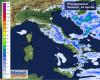 Ecco le precipitazioni di oggi: coinvolto soprattutto il Centro Sud