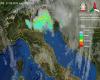 Forti temporali sulle Alpi, in discesa verso parte delle pianure