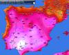 Caldo già feroce in Spagna: superati i 42 gradi