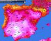 Caldo estremo sulla Penisola Iberica: quasi 44 gradi in Spagna