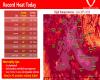 Ondata di caldo record in Idaho