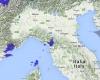 Prime piogge verso Ponente Ligure e alta Toscana