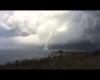 Tromba marina a Otranto, il video dalla costa