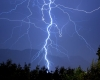 Maltempo nell'Ovest Lombardia, nella notte tempesta di fulmini e violenti temporali
