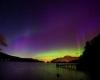 Straordinarie aurore boreali nei cieli d'Europa