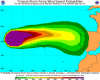 Meteo estremo in Spagna: dal caldo record all'ex uragano Joaquin