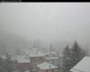 Inizia il peggioramento del primo maggio, primi forti temporali e nevicate sul Piemonte