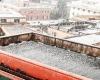 Furiosa grandinata si abbatte su Genova: città bianca come se fosse neve