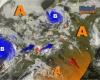 Scricchiolii dell'Anticiclone a ovest: avanzano temporali verso Alpi