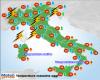 Oggi, attesi picchi di circa 35 gradi al Sud Italia, rinfresca al Nord e Toscana