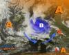 Grossa perturbazione a ridosso delle Alpi insidia l'Italia con fresco e temporali