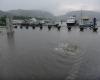 Violenti temporali sul Nord Italia: in Lombardia esonda Lago di Como