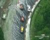 Nubifragio estremo con super grandine si abbatte in gara automobilistica