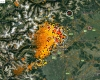 Piemonte sotto assedio temporalesco: scatta il peggioramento