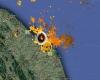 I temporali si sono spostati in Adriatico: maltempo su costa marchigiana
